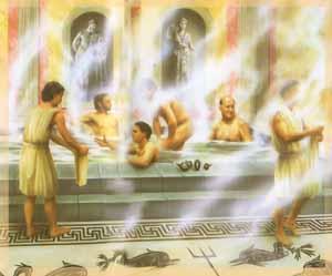 Баня в Древней Греции