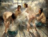 Секс в бане