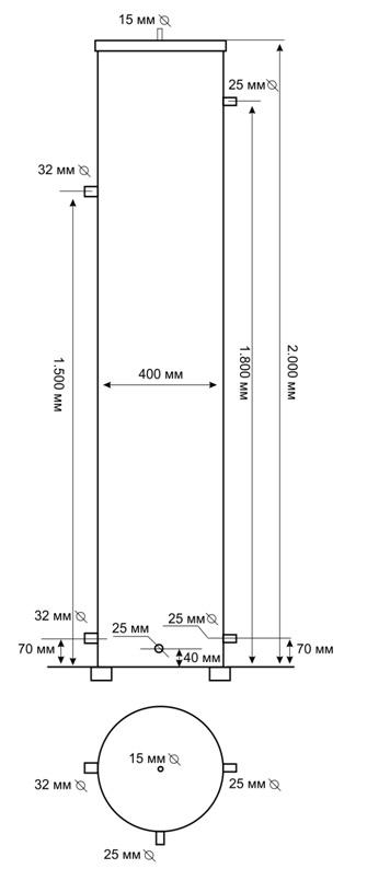 Схема Гидравлического Разделителя