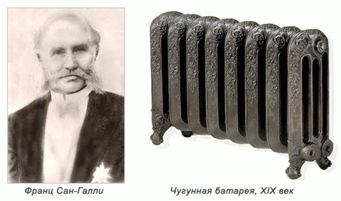 История появления радиаторов отопления