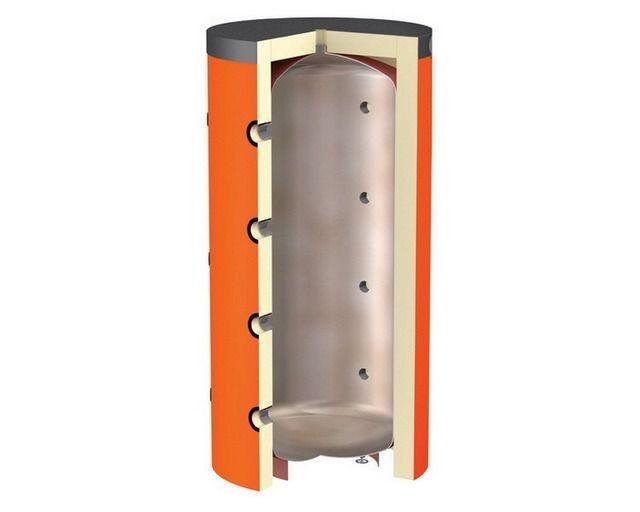 Теплоаккумуляторы с подключением контуров напрямую