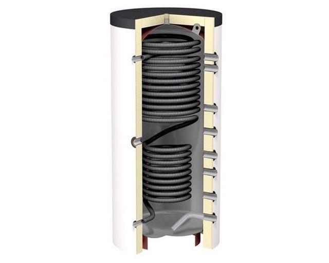 Теплоаккумуляторы со встроенными теплообменниками с проточным водоснабжением