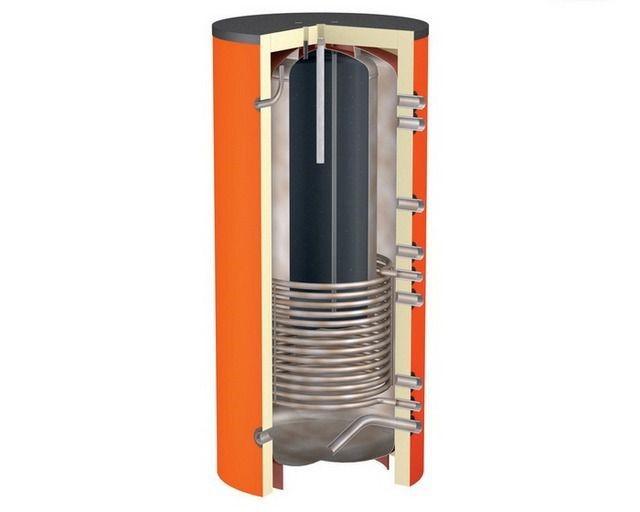 Теплоаккумуляторы со встроенным баком для горячего водоснабжения
