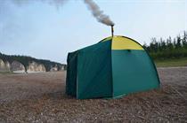 Палатка для мобильной бани «Берендей»