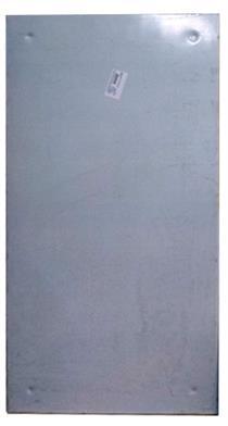 Отражающий  экран из нержавеющей стали 1000х500 мм