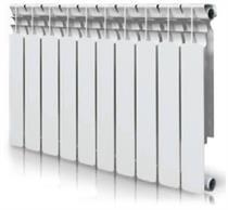 Радиатор алюминиевый EVOLUTION 500 10 секций